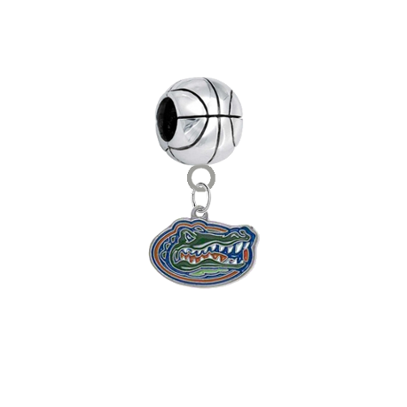 Florida Gators Basketball Universal European Bracelet Charm