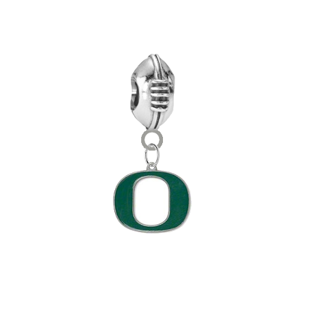 Oregon Ducks Football Universal European Bracelet Charm