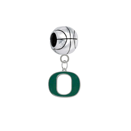 Oregon Ducks Basketball Universal European Bracelet Charm