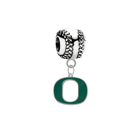 Oregon Ducks Baseball Universal European Bracelet Charm