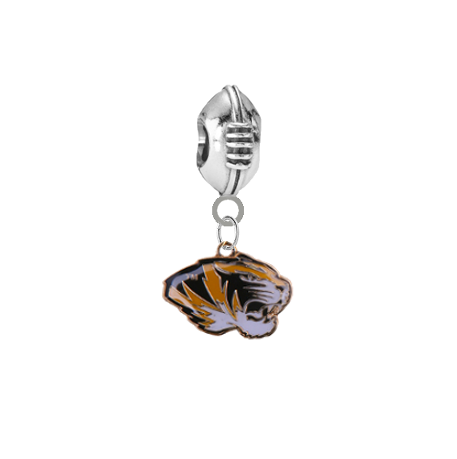 Missouri Tigers Football Universal European Bracelet Charm