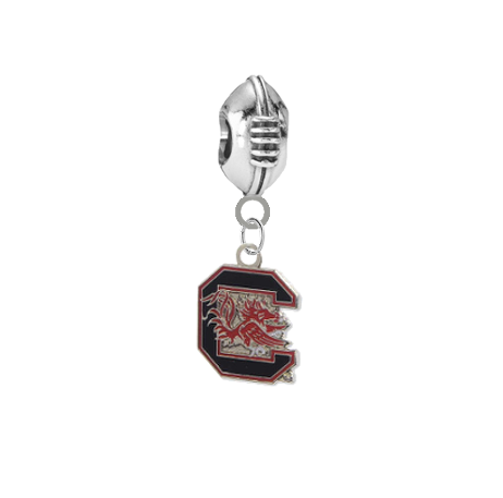 South Carolina Gamecocks Football Universal European Bracelet Charm