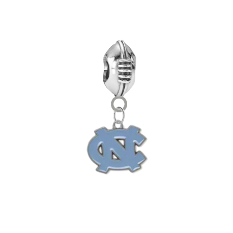 North Carolina Tar Heels Football Universal European Bracelet Charm