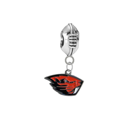 Oregon State Beavers Football Universal European Bracelet Charm