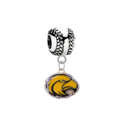 Southern Miss Golden Eagles Baseball Universal European Bracelet Charm