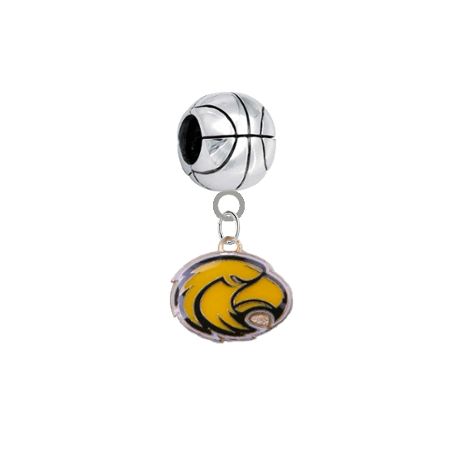 Southern Miss Golden Eagles Basketball Universal European Bracelet Charm