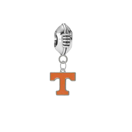 Tennessee Volunteers Football Universal European Bracelet Charm