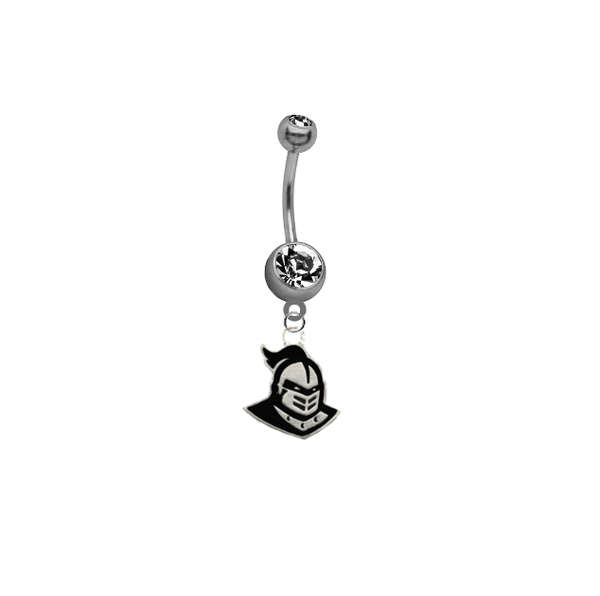 Central Florida Knights NCAA College Belly Button Navel Ring