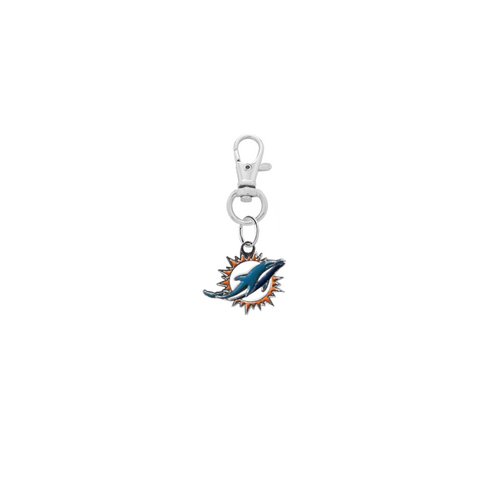Miami Dolphins NFL Silver Pet Tag Dog Cat Collar Charm