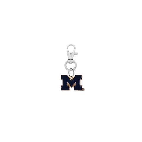 Michigan Wolverines 2 Silver Pet Tag Dog Cat Collar Charm