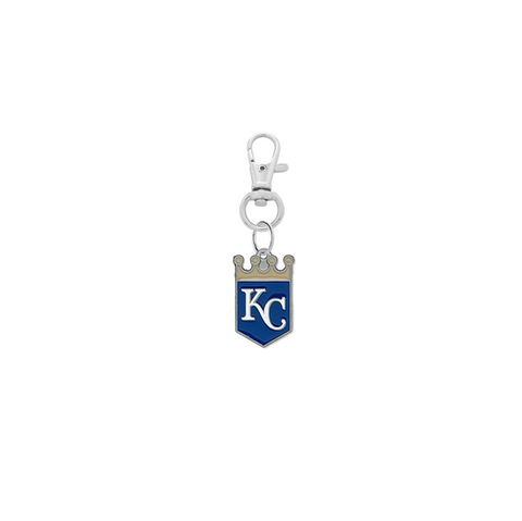 Kansas City Royals Silver Pet Tag Dog Cat Collar Charm