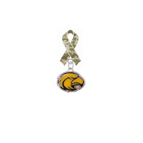 Southern Miss Golden Eagles Salute to Service Military Appreciation Camo Ribbon Lapel Pin