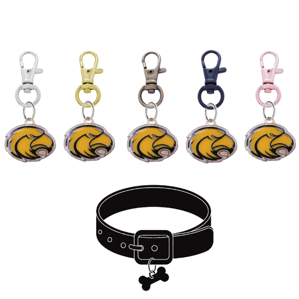Southern Miss Golden Eagles NCAA Pet Tag Dog Cat Collar Charm