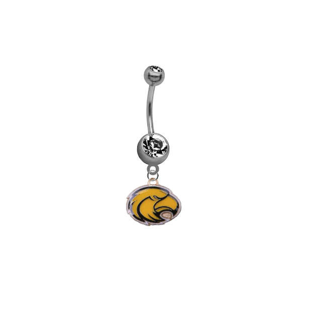 Southern Miss Golden Eagles NCAA College Belly Button Navel Ring