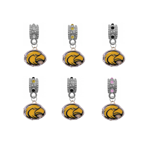 Southern Miss Golden Eagles NCAA Crystal Rhinestone European Bracelet Charm