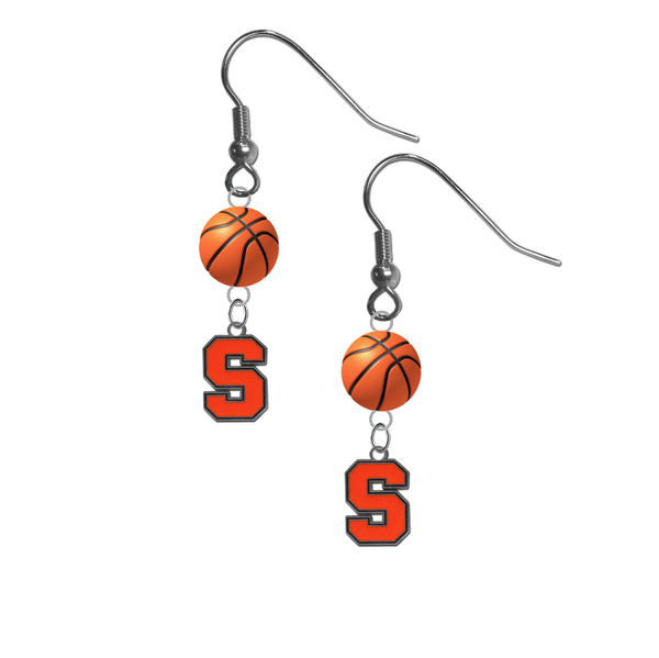 Syracuse Orange NCAA Basketball Dangle Earrings