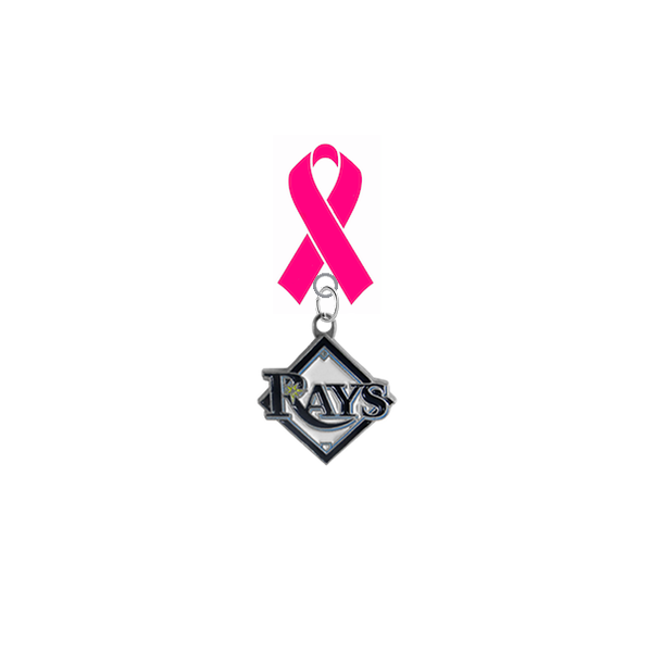 Tampa Bay Rays MLB Breast Cancer Awareness / Mothers Day Pink Ribbon Lapel Pin