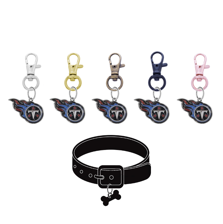 Tennessee Titans NFL Pet Tag Dog Cat Collar Charm
