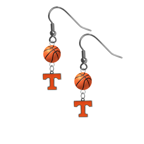 Tennessee Volunteers NCAA Basketball Dangle Earrings
