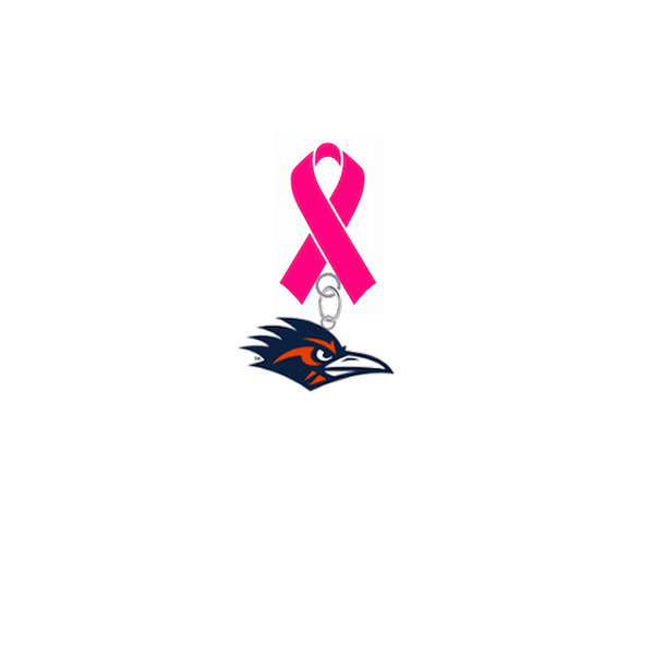 Texas San Antonio Roadrunners Breast Cancer Awareness / Mothers Day Pink Ribbon Lapel Pin