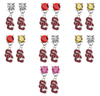 USC Southern California Trojans 2 NCAA Swarovski Crystal Stud Rhinestone Earrings