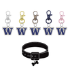 Washington Huskies NCAA Pet Tag Dog Cat Collar Charm