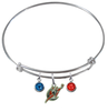 Washington Wizards NBA Expandable Wire Bangle Charm Bracelet
