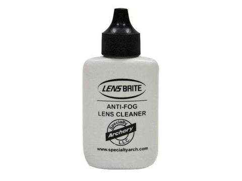 Anti-fog lens cleaner