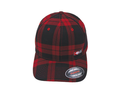 Bohning Red Plaid Hat
