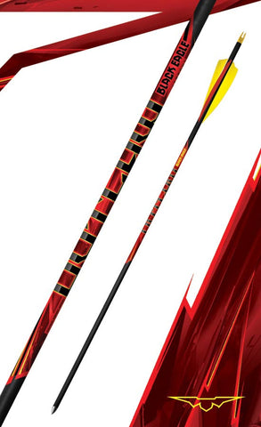 Black Eagle Outlaw Fletched Feather arrows.