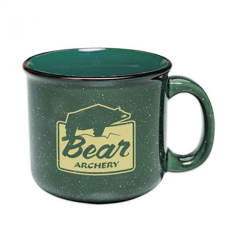 Bear Archery Campfire Ceramic Mug