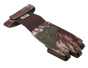 Shooting Glove Camo Leather Tips