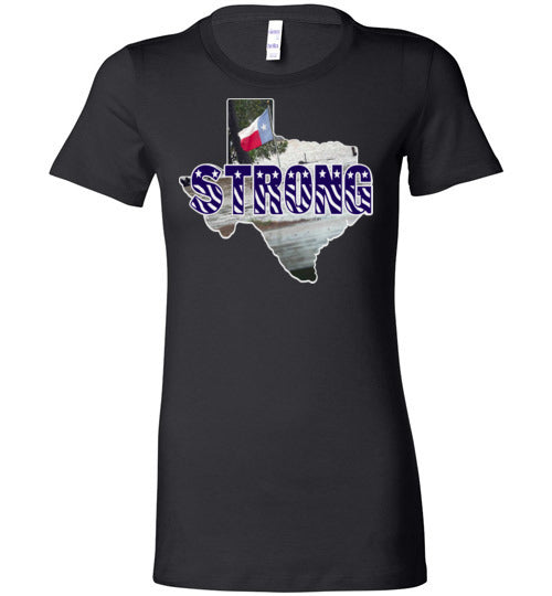 TEXAS STRONG #HURRICANE HARVEY BELLA TEE