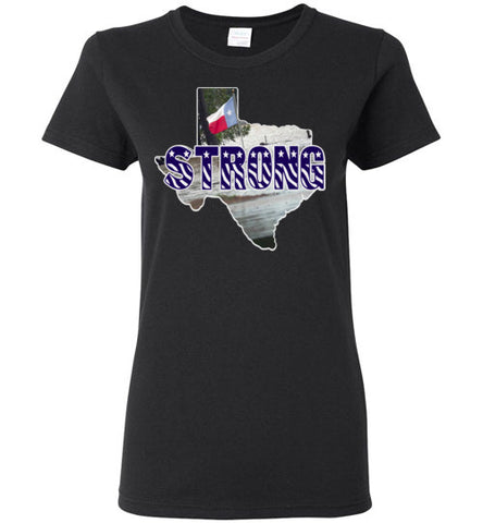 #HOUSTONSTRONG LADIES TEE