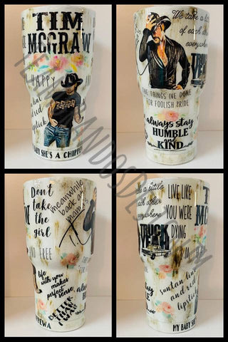 Tim Mcgraw Fan Tumbler Cup