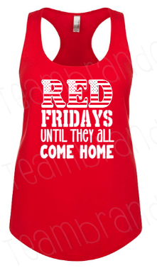 Red Friday Every Friday Flowy Tank