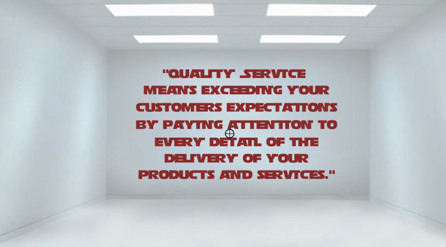 Quality Service Quote