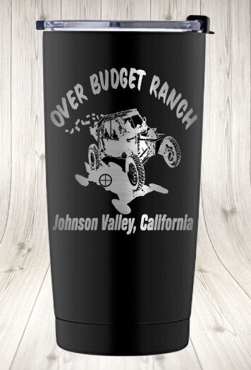 Over Budget Ranch Stainless Steel Tumblers