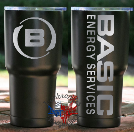 Basic Energy Custom Tumbler