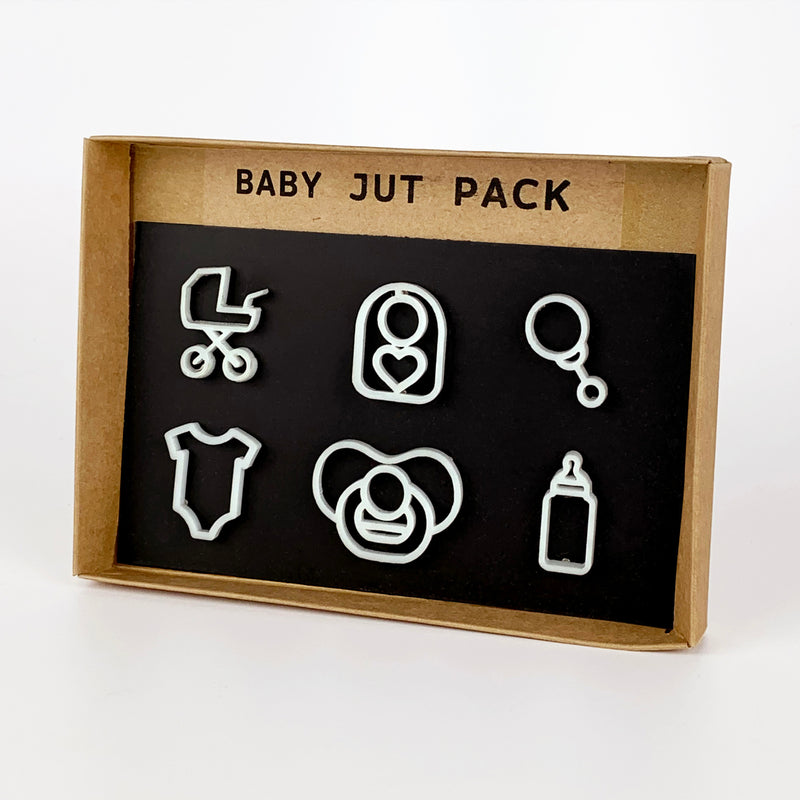Baby Jut Pack - White