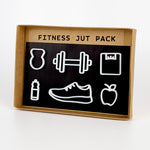 Fitness Jut Pack - White