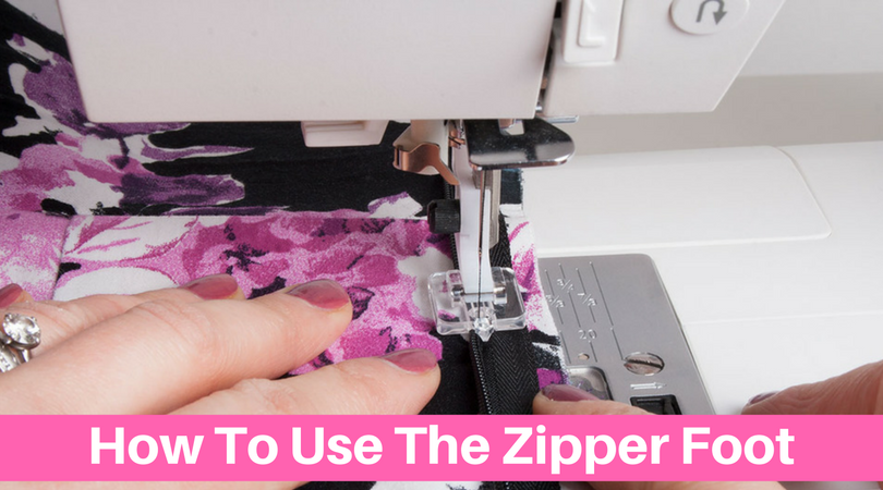 How To Use The Invisible Zipper Foot