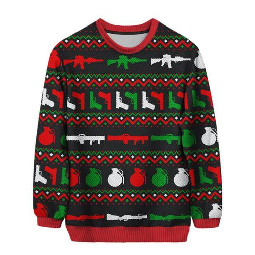 Guns Sweater - I Love Quilting Store
