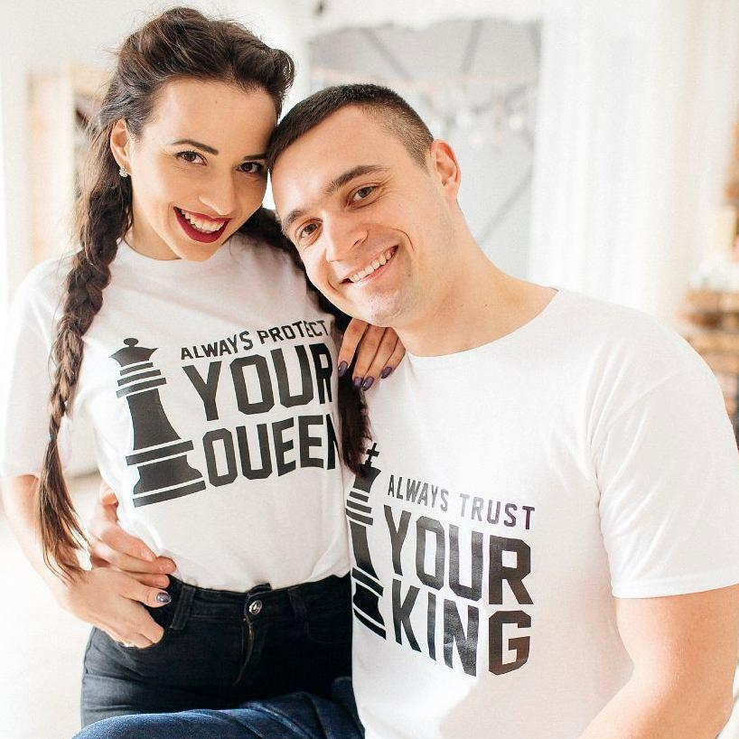 Always Protect your Queen/King Couple T shirt - I Love Quilting Store