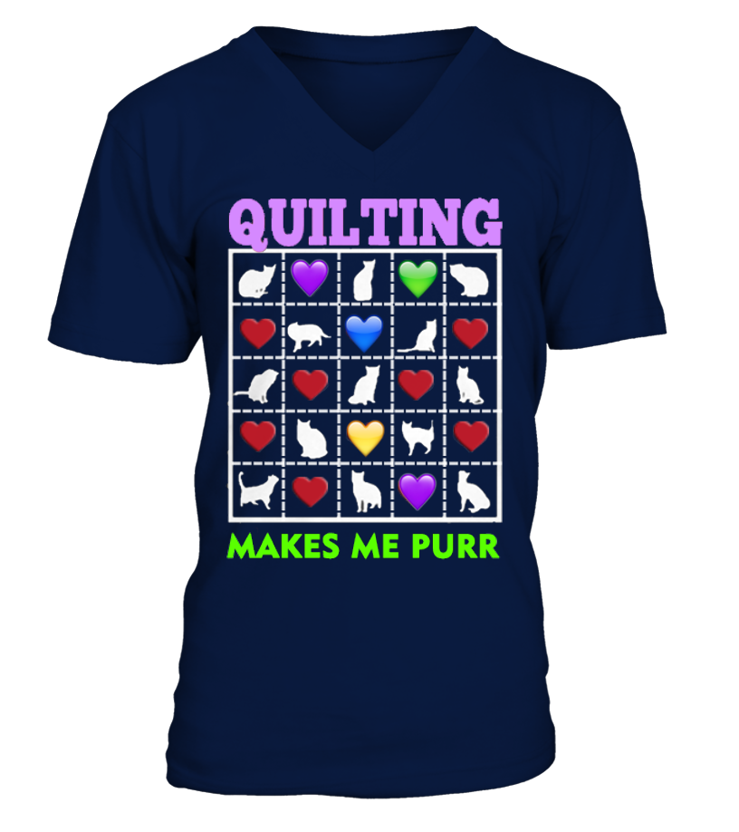 Quilting Makes Me Purr - I Love Quilting Store