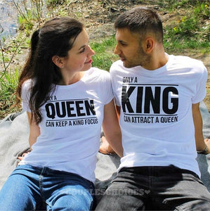 """Only a King & Queen Can T Shirt"" - I Love Quilting Store"