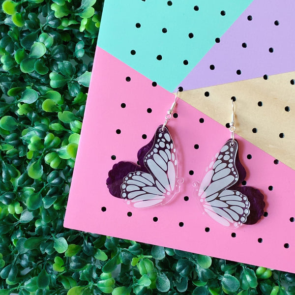 Butterfly Dangles ~ choose colour