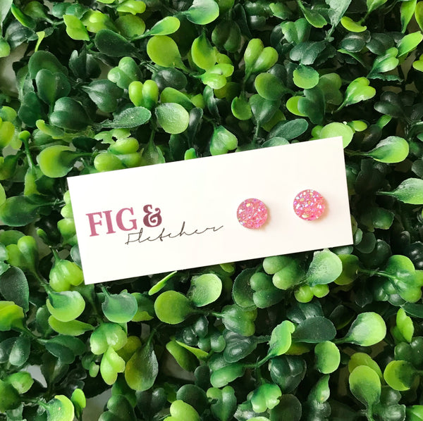 Mini Druzy Studs - choose colour *SPECIAL ORDER ITEM*