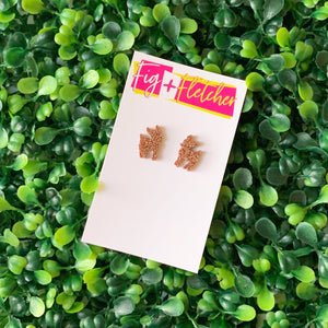 Bambi Fawn Funky Studs ~ choose colour