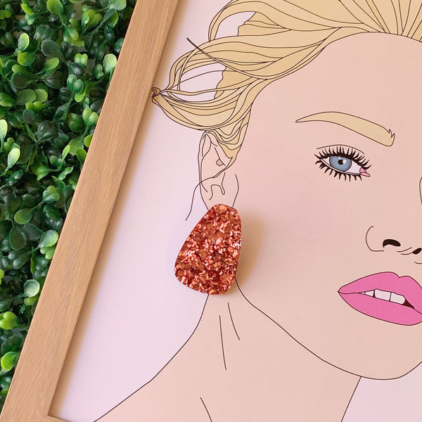 Kiki Statement Studs ~ choose colour